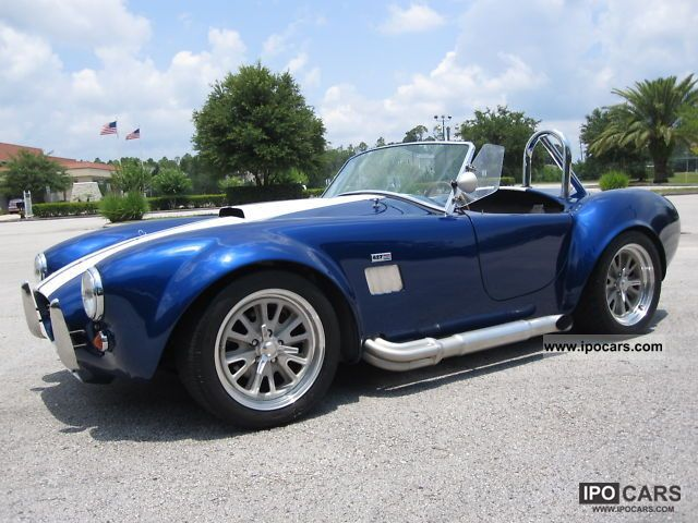 Cobra  SHELBY COBRA FACTORY FIVE 5 EXPORTS NET € 29,790 1965 Vintage, Classic and Old Cars photo