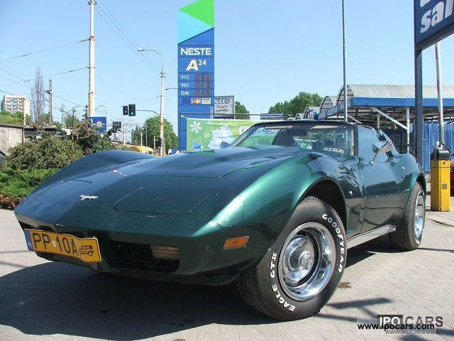 1977 Corvette  TARGA V8 Sports car/Coupe Used vehicle photo