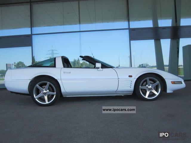 1995 Corvette C4 Targa Top White Vehicle New Paint Car