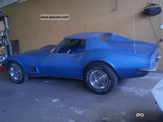 Corvette  C3 4Speed ​​350HP Match # 976 Lemans Blue Trim 411 1969 Vintage, Classic and Old Cars photo