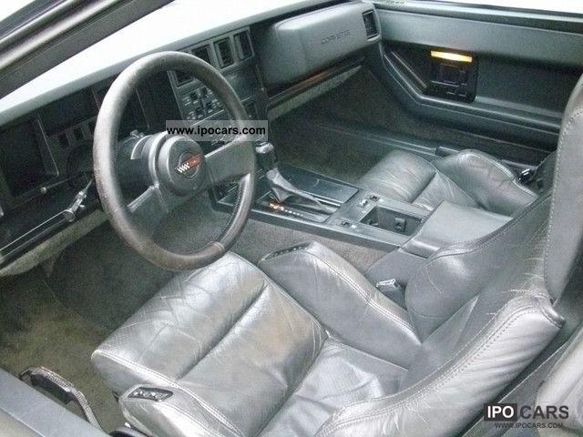Image Gallery 1987 Corvette Interior