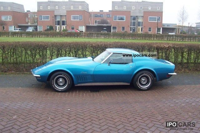 Corvette  1971 Stingray 350 LT1 C3 1971 Vintage, Classic and Old Cars photo