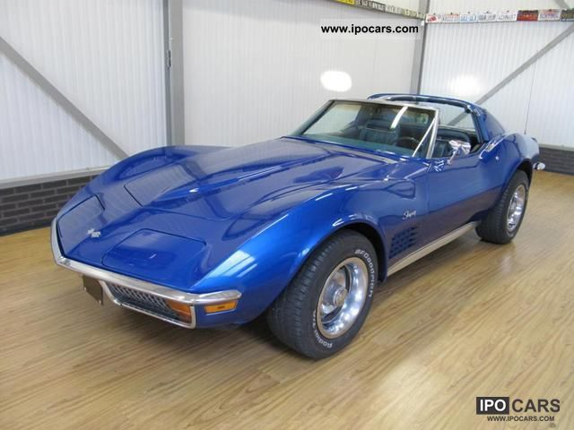 1972 Corvette C3 Stingray T-Top Manual Shift Sports car/Coupe Classic