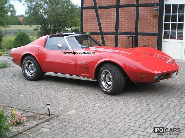 Corvette  Stingray, big-block, matching Numbers 1973 Vintage, Classic and Old Cars photo