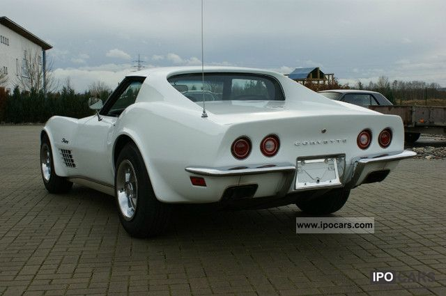 Corvette  C3 Stingray 1972 Vintage, Classic and Old Cars photo