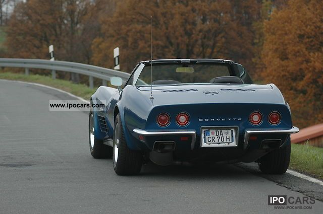Corvette  5.7-liter small-block 1970 Vintage, Classic and Old Cars photo