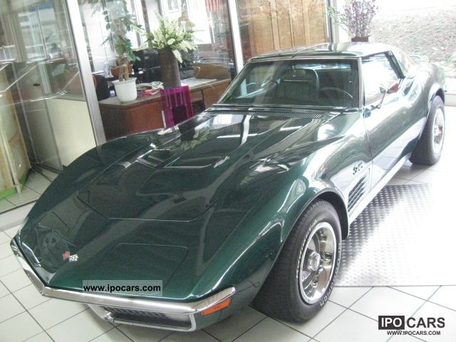 Corvette  C3 454-7.4 liter 365 HP LS5 matching numbers 1971 Vintage, Classic and Old Cars photo