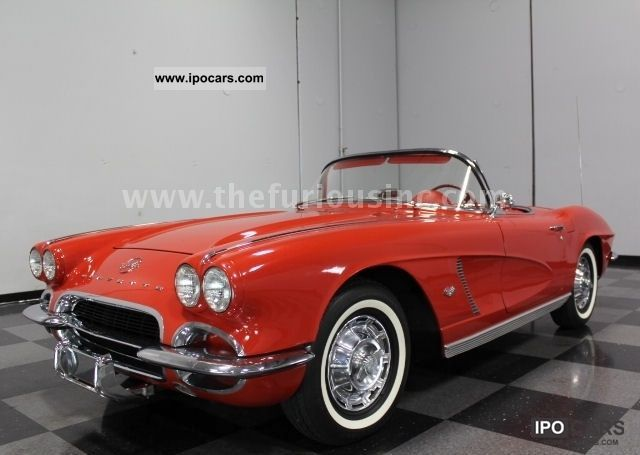Corvette  C1 Convertible, CONDI & SUPER GREAT PRICE! 1962 Vintage, Classic and Old Cars photo