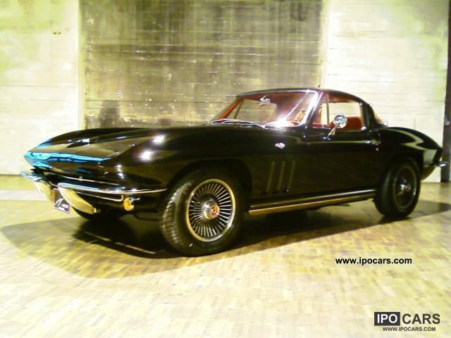 Corvette  Sting Ray 327 Coupe 1965 Vintage, Classic and Old Cars photo