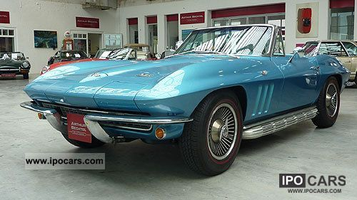 Corvette  Sting Ray convertible C2 1966 Vintage, Classic and Old Cars photo
