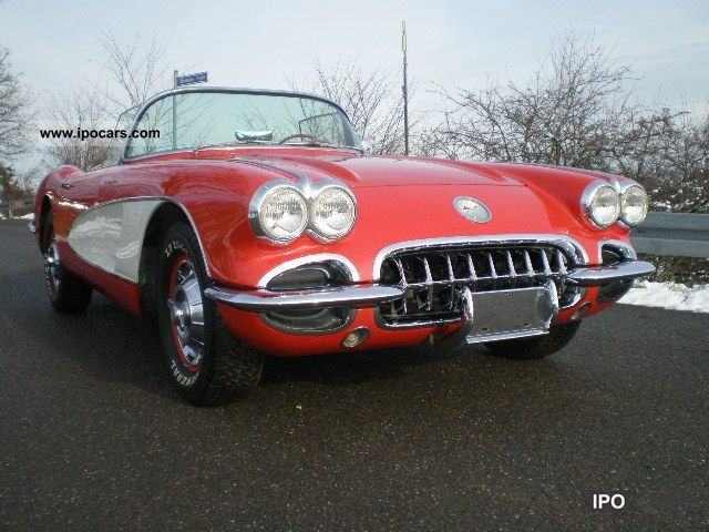 1960 Corvette  Fuel Injection with TÜV approval u H Cabrio / roadster Classic Vehicle photo