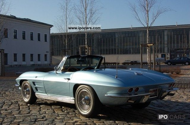 1963 Corvette  C2 Sting Ray, switches, H-plates Cabrio / roadster Classic Vehicle photo
