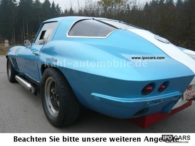 Corvette  C2, orig.GT-1 B-Production Corvette Race, History 1965 Vintage, Classic and Old Cars photo