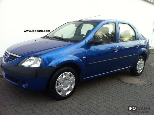 2006 dacia logan 1 6 laureate air power how 80tkm euro4 car photo and specs. Black Bedroom Furniture Sets. Home Design Ideas