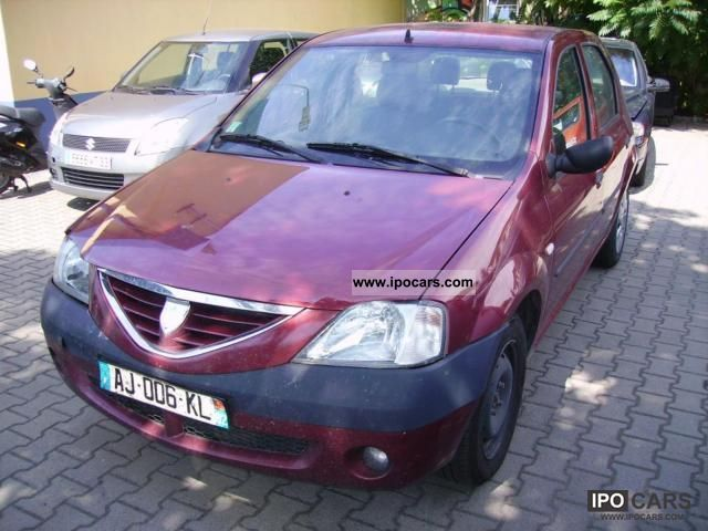 2007 dacia logan car photo and specs. Black Bedroom Furniture Sets. Home Design Ideas
