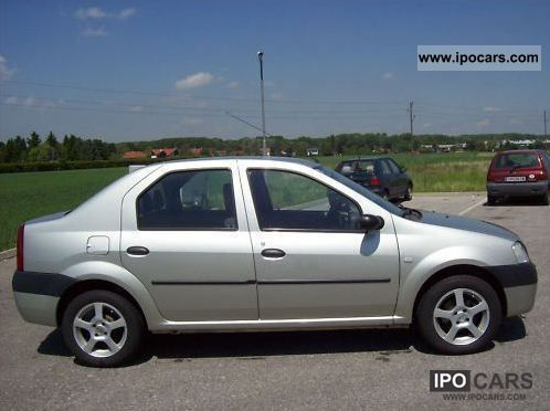 2006 dacia logan 1 4 car photo and specs. Black Bedroom Furniture Sets. Home Design Ideas
