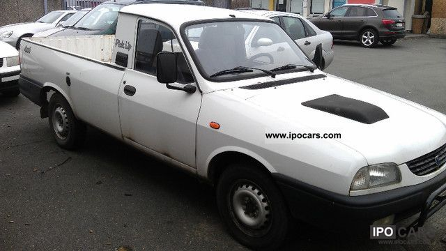 2006 dacia pick up 1 9 diesel 4x4 car photo and specs. Black Bedroom Furniture Sets. Home Design Ideas