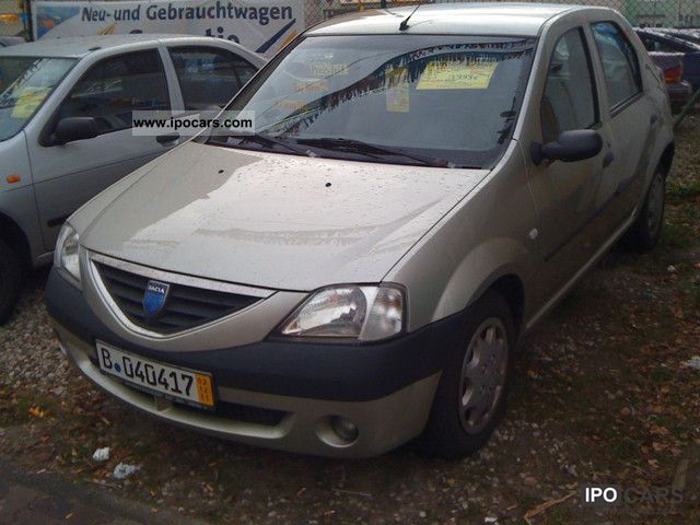 2006 dacia logan 1 5 dci ambiance car photo and specs. Black Bedroom Furniture Sets. Home Design Ideas