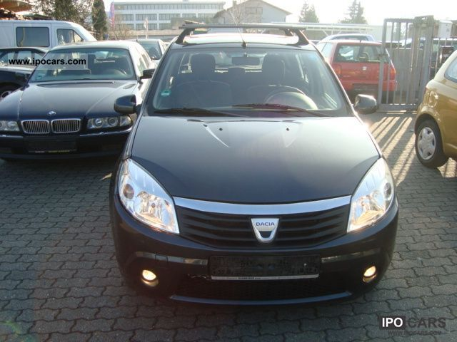 2008 dacia sandero 1 6 mpi laureate euro 4 air car photo and specs. Black Bedroom Furniture Sets. Home Design Ideas