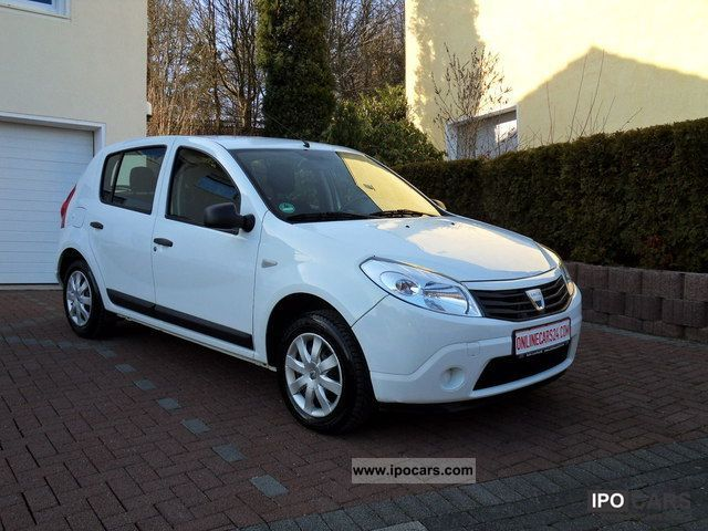2009 Dacia Sandero 12 16v Eco2 With Air Conditioning Car Photo