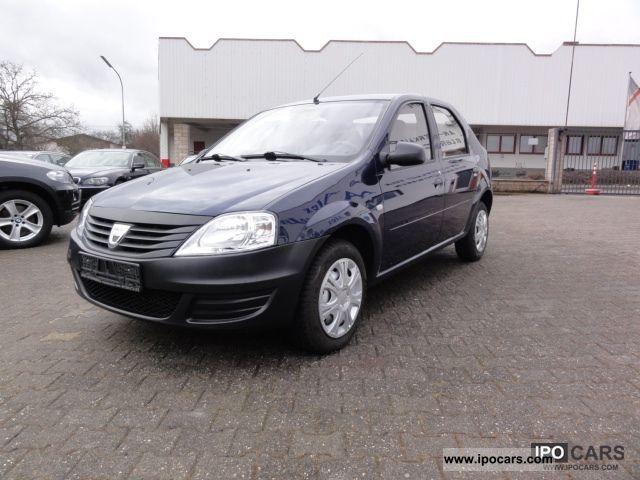 2010 Dacia  Logan 1.4 * 1 hand * € 4 * Factory Warranty * Limousine Used vehicle photo