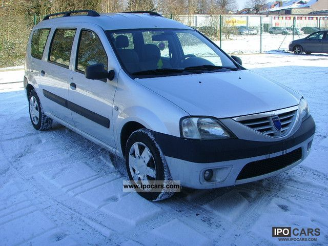 2007 dacia ambiance 1 5 dci 7 places car photo and specs. Black Bedroom Furniture Sets. Home Design Ideas