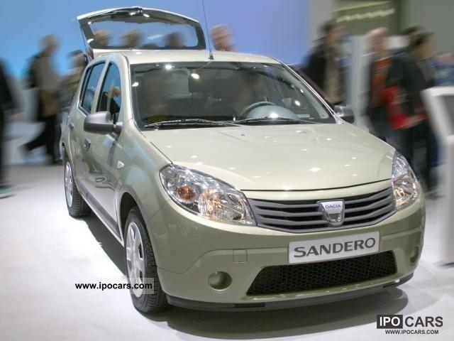 2011 Dacia  Sandero base Small Car New vehicle photo