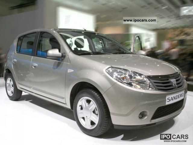 2011 dacia sandero base car photo and specs. Black Bedroom Furniture Sets. Home Design Ideas