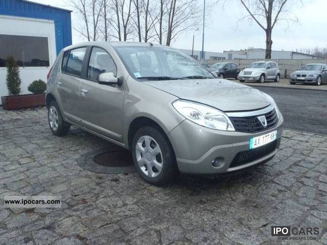 Dacia  Sandero Diesel 2010 Electric Cars photo