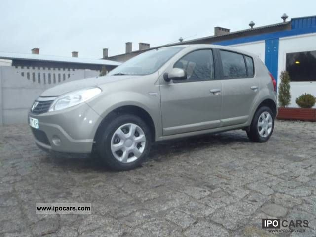 2010 dacia sandero diesel car photo and specs. Black Bedroom Furniture Sets. Home Design Ideas