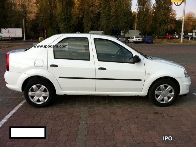 2011 dacia logan 1 2 16v like new atmosphere car photo and specs. Black Bedroom Furniture Sets. Home Design Ideas