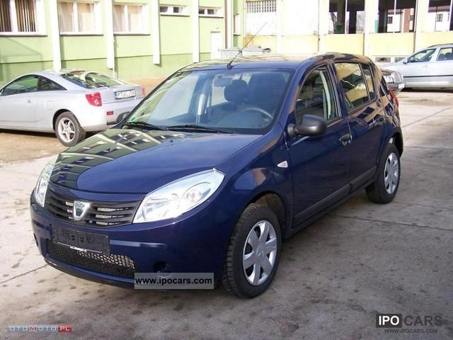 2011 dacia sandero ambiance car photo and specs. Black Bedroom Furniture Sets. Home Design Ideas