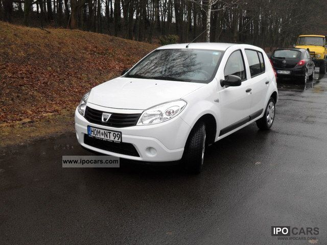2010 dacia sandero 1 2 16v ambiance car photo and specs. Black Bedroom Furniture Sets. Home Design Ideas