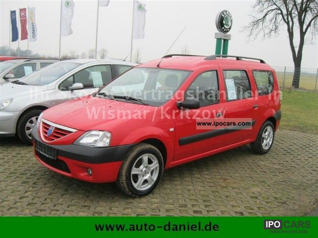 Dacia  Logan MCV 1.6 Laureate 2009 Liquefied Petroleum Gas Cars (LPG, GPL, propane) photo