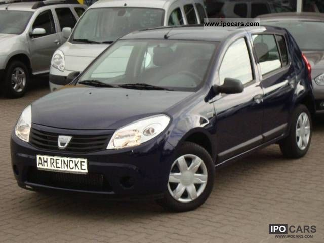 2011 dacia sandero 1 2 75ps base car photo and specs. Black Bedroom Furniture Sets. Home Design Ideas