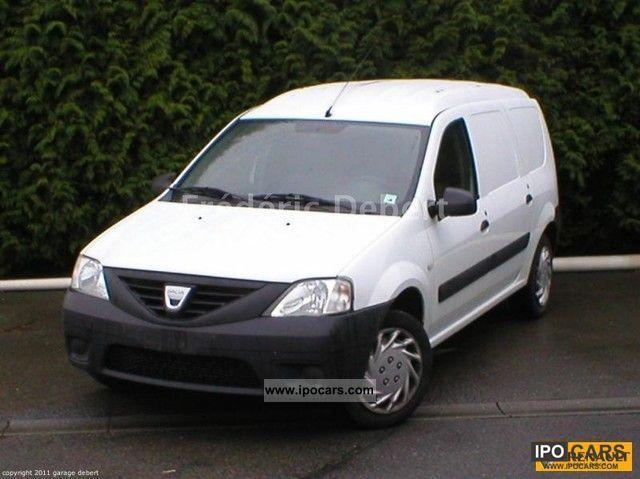 2009 dacia logan van 1 5 dci 85 eco2 ambiance car photo and specs. Black Bedroom Furniture Sets. Home Design Ideas