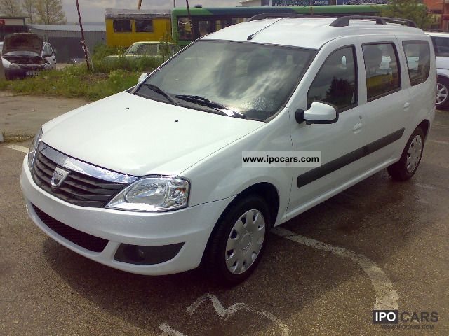 Dacia  Logan MCV 1.6 LPG Ambiance 2010 Liquefied Petroleum Gas Cars (LPG, GPL, propane) photo