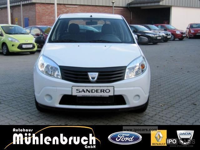 2011 dacia sandero 1 4 mpi car photo and specs. Black Bedroom Furniture Sets. Home Design Ideas