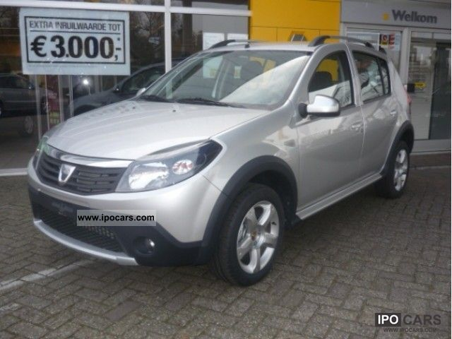 2011 dacia sandero stepway 1 6 16v 105 ps stepway car photo and specs. Black Bedroom Furniture Sets. Home Design Ideas