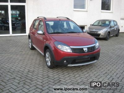 2011 dacia sandero stepway 1 6 zv power steering abs alloy met 2airb car photo and specs. Black Bedroom Furniture Sets. Home Design Ideas