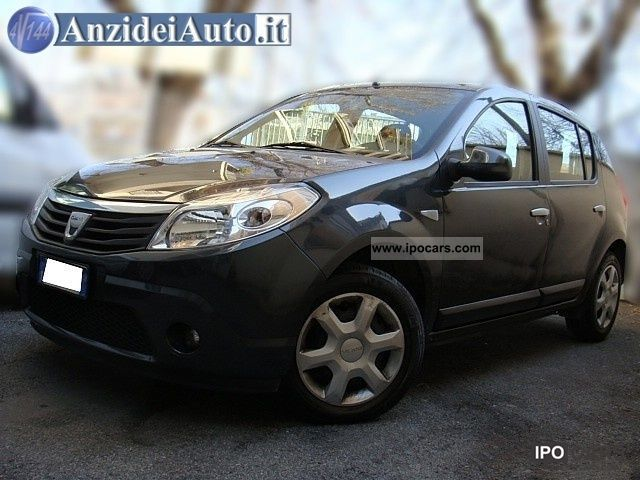 Dacia  Sandero 1.4 8V GPL 2010 Liquefied Petroleum Gas Cars (LPG, GPL, propane) photo