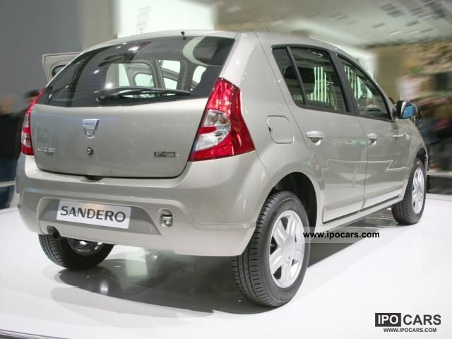 2011 dacia sandero aniversare car photo and specs. Black Bedroom Furniture Sets. Home Design Ideas