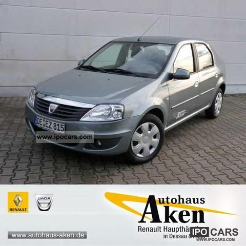 Dacia  Logan Laureate 1.4 LPG Air / ZV and much more. 2009 Liquefied Petroleum Gas Cars (LPG, GPL, propane) photo