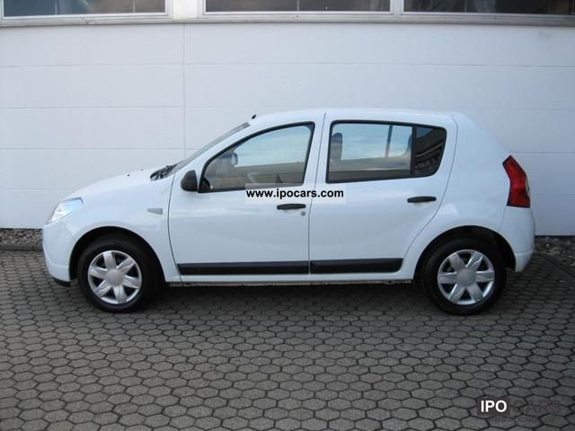 2010 dacia sandero 1 4 lpg ambiance 8 frosted car. Black Bedroom Furniture Sets. Home Design Ideas