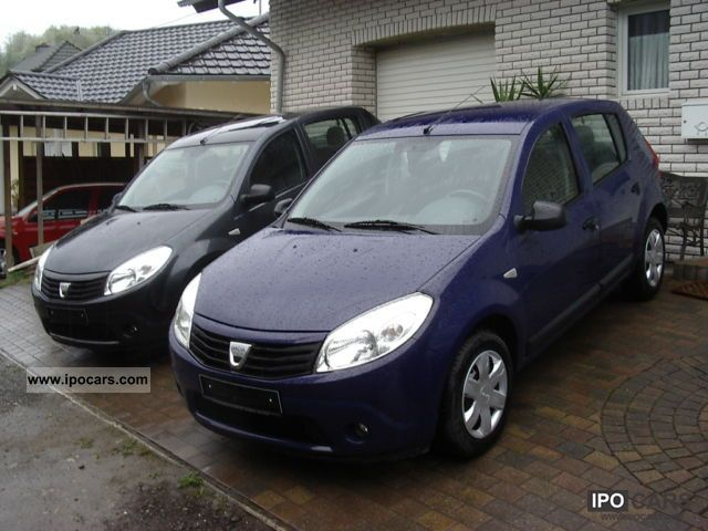 2012 dacia sandero 1 2 16v ambiance cars climate car photo and specs. Black Bedroom Furniture Sets. Home Design Ideas