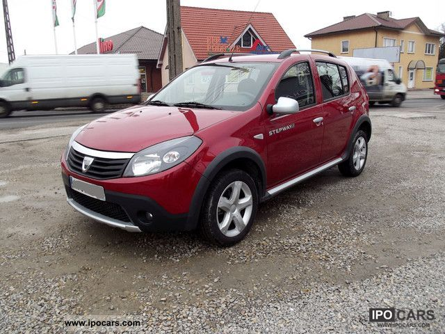 2010 dacia sandero stepway 1 5 dci car photo and specs. Black Bedroom Furniture Sets. Home Design Ideas