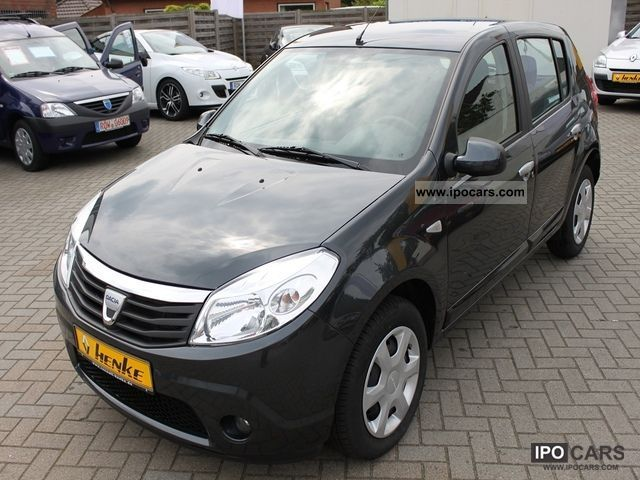 2010 dacia sandero 1 6mpi laur ate car photo and specs. Black Bedroom Furniture Sets. Home Design Ideas