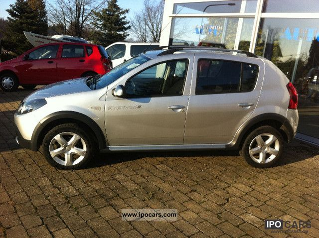 2010 dacia sandero stepway 1 6 mpi car photo and specs. Black Bedroom Furniture Sets. Home Design Ideas