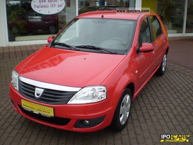 2009 dacia logan 1 6 16v laureate car photo and specs. Black Bedroom Furniture Sets. Home Design Ideas