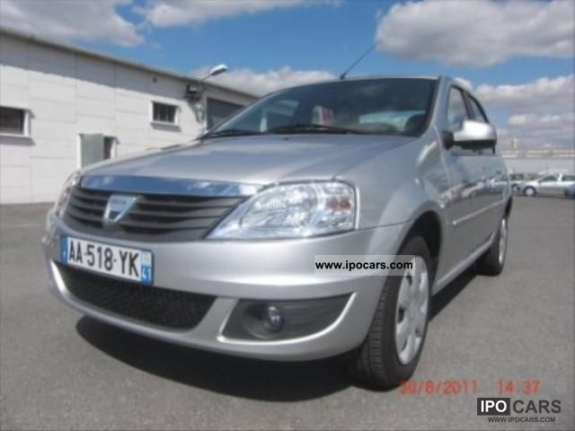 2009 dacia logan 1 5 dci 70 ambiance car photo and specs. Black Bedroom Furniture Sets. Home Design Ideas